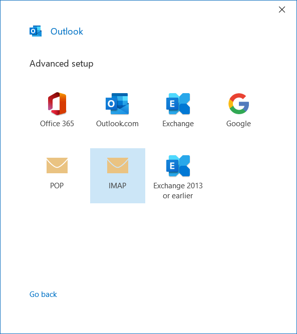 Outlook Setup 2