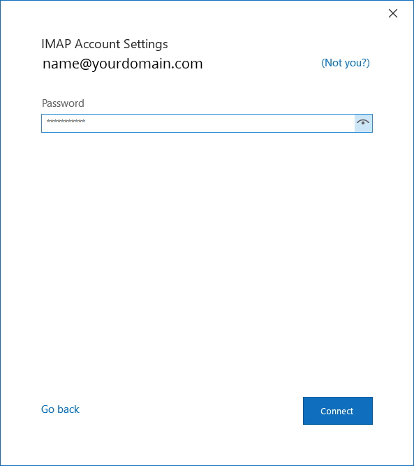 Outlook Setup 4